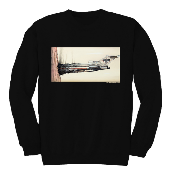 Fly Boys Black Crewneck