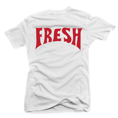 Fresh Gordon White / Red Tee