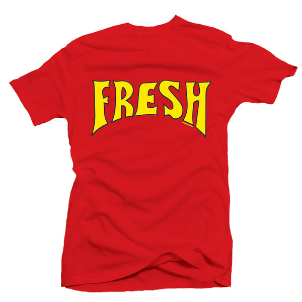 Fresh Gordon Ferrari Red / Yellow Tee