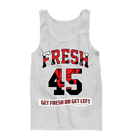 Fresh 45 White Tanktop