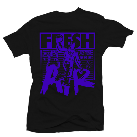 Fresh Air Black Space Jam Tee