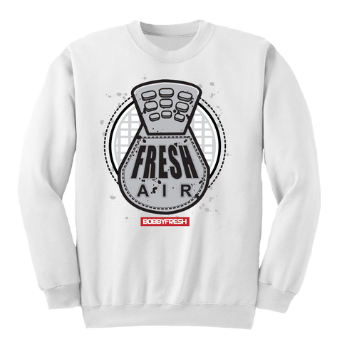 Fresh Air Cement White Crewneck