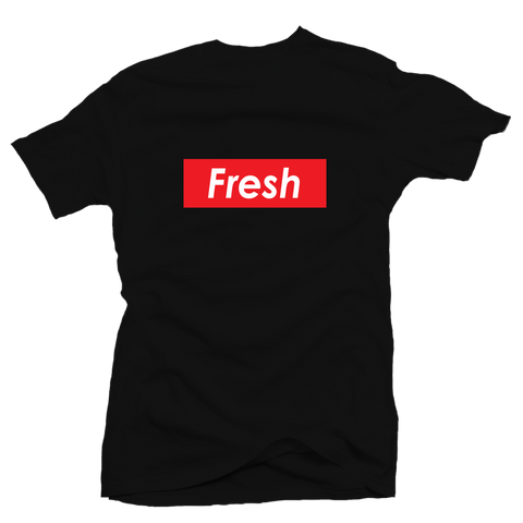 Fresh Box Black Tee