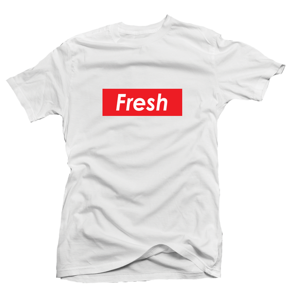 Fresh Box White Tee