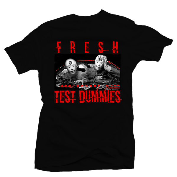 Fresh Dummies Blk/Red Tee