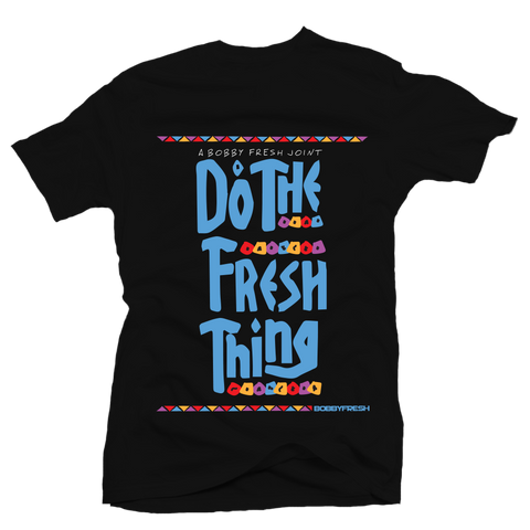 Fresh Thing Black Tee