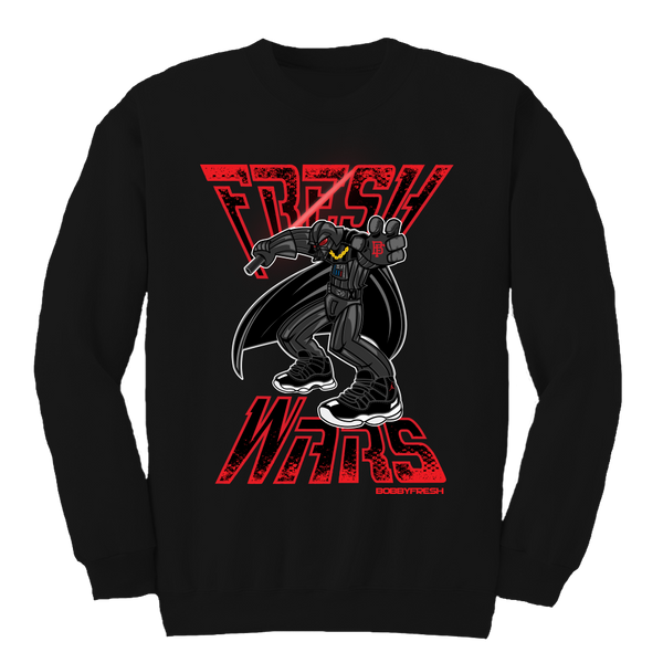 Fresh Wars Black Crewneck