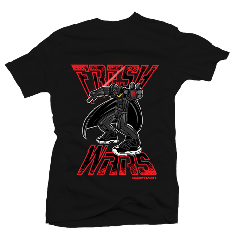 Fresh Wars Black Tee