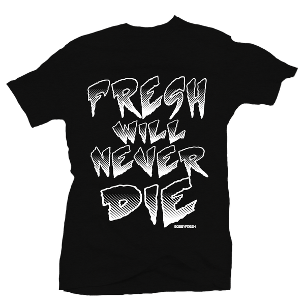 Never Die Black Tee