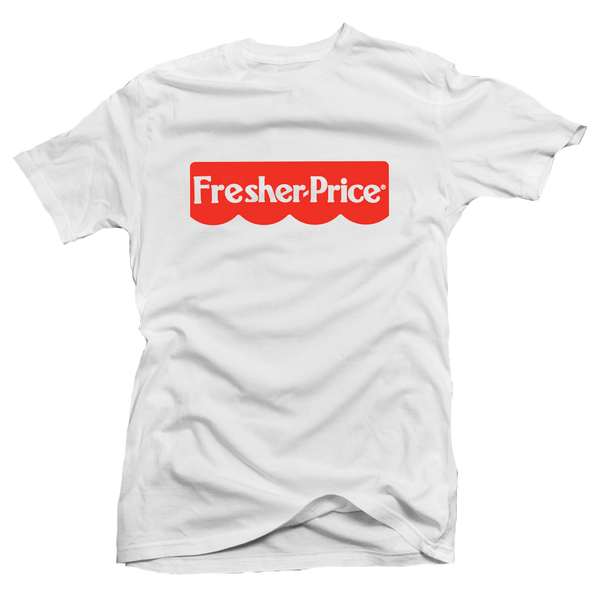 Fresher Price White/Red Tee - Bobby Fresh