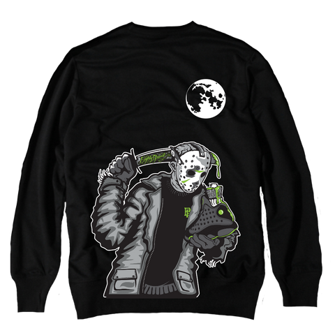 c291a35241eaf8 Friday the 13 Black Altitude Crewneck Sweater
