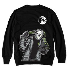 Friday the 13 Black Altitude Crewneck Sweater