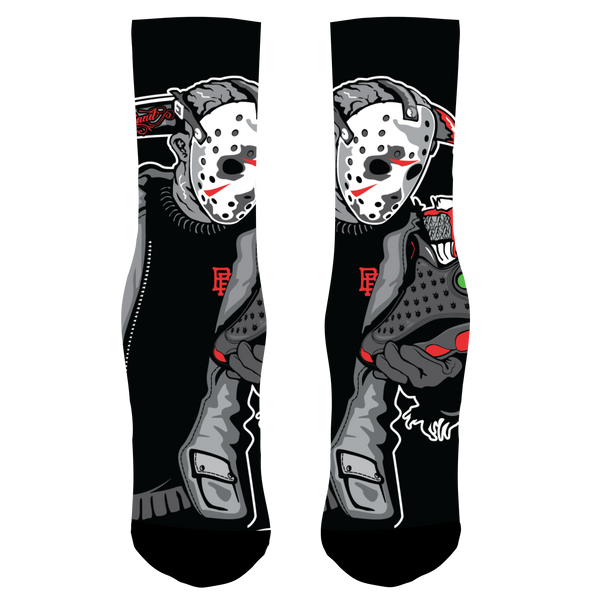 Friday the 13th Dirty Bred Socks