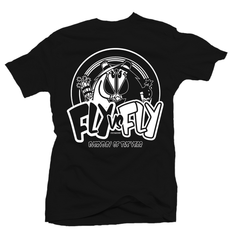 Fly vs Fly Black Tee