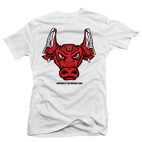 Gym Red Bull White Tee