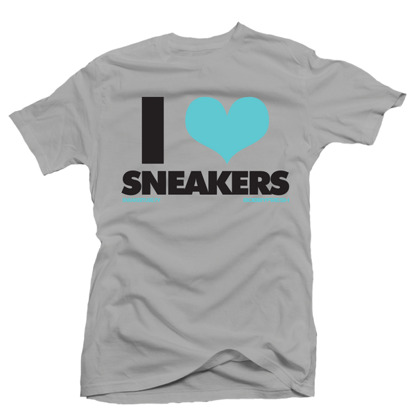 I love Sneakers Liberty Grey Tee