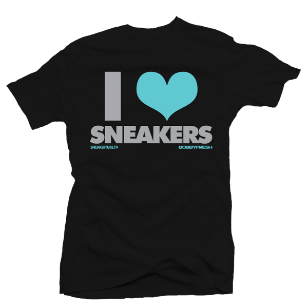 I love Sneakers Liberty Black Tee