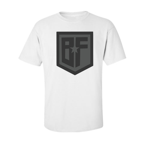 BF League White/Grey Tee