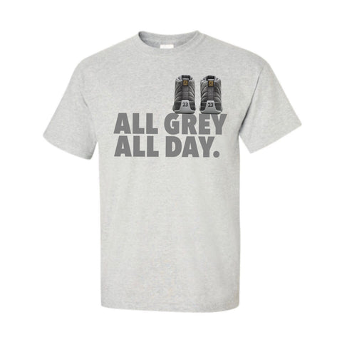All Grey All Day Grey Tee