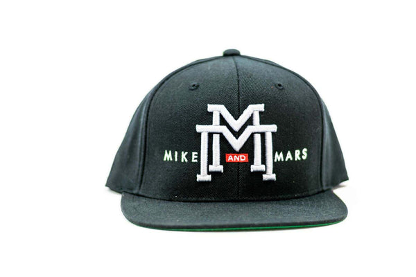 Mike and Mars Black Snapback
