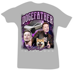 The Doge Father (Elon Musk Dogecoin) White Tee - Bobby Fresh