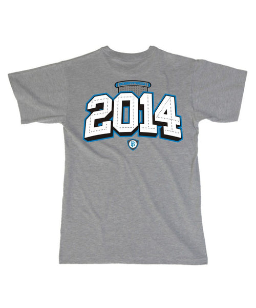 2014 Sport Blue Heather Grey Tee