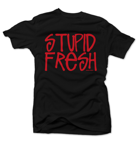 Stupid Fresh Bred Black Tee