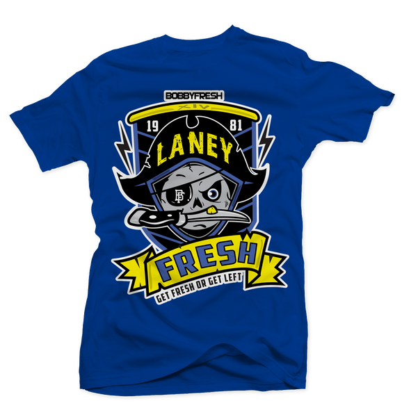 Pirate Laney Blue Tee