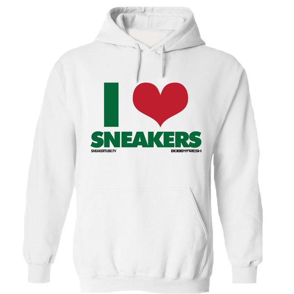 I Love Sneakers Gucci White Hoody