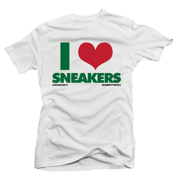 I Love Sneakers Gucci White Tee