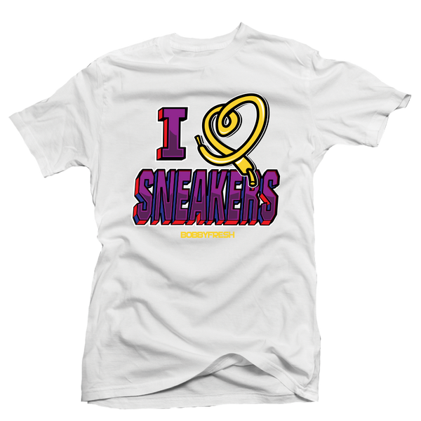 I Love Sneakers Sweater 7 White Tee