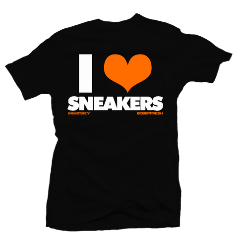 I love Sneakers Shattered Backboard Black Tee