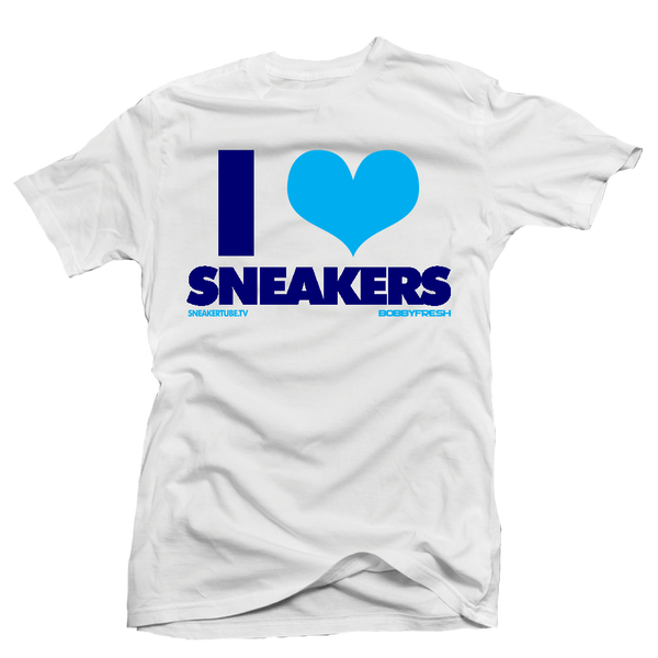 Bobby Fresh x Sneaker Tube Tv I Love Sneakers Hornets White Tee
