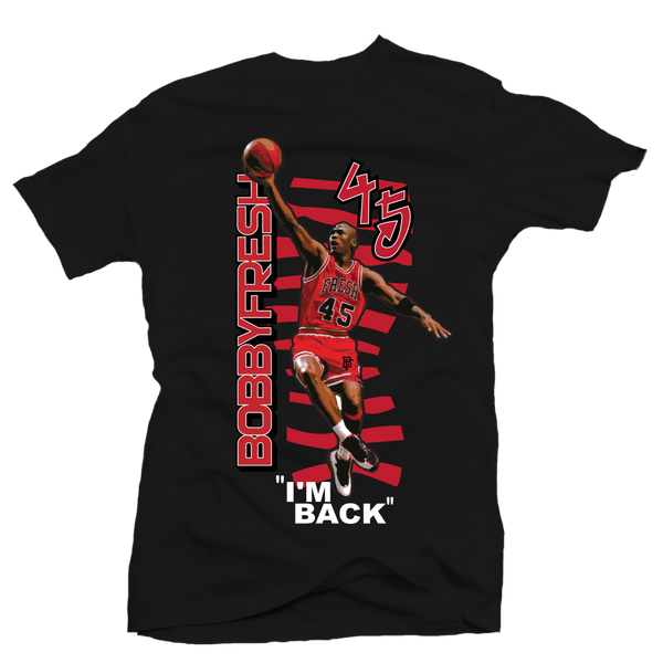 Im Back Black Tee