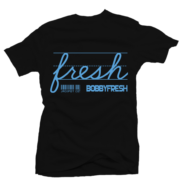Bobby Fresh X Jackpot Co. Fresh Radio Raheem Black Tee