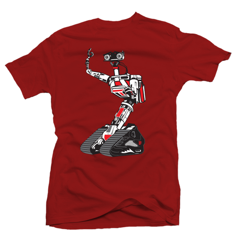 Here's Johnny Metallic Red Tee