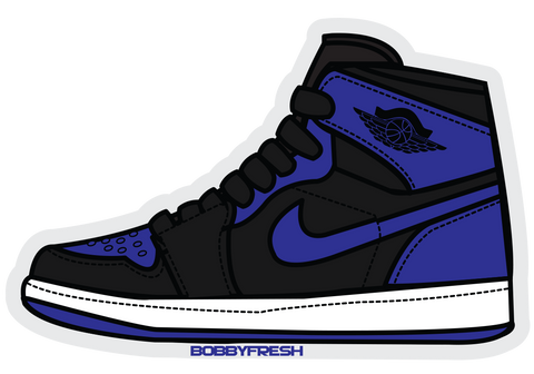 Jordan 1 Royal Sticker