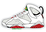 Jordan 7 Hare Sticker - Bobby Fresh