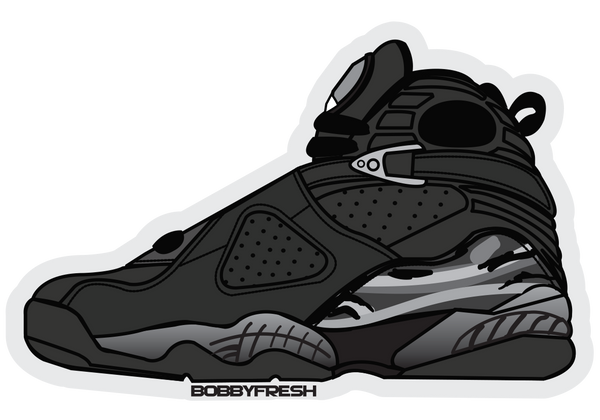 Jordan 8 Chrome Sticker