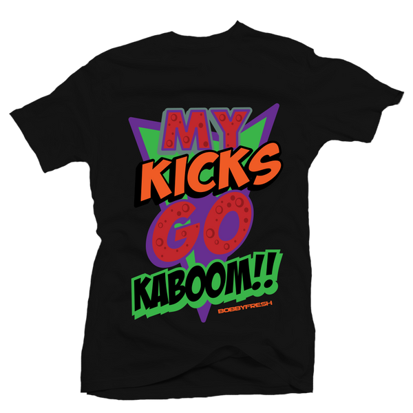 Kaboom Black Martian Tee