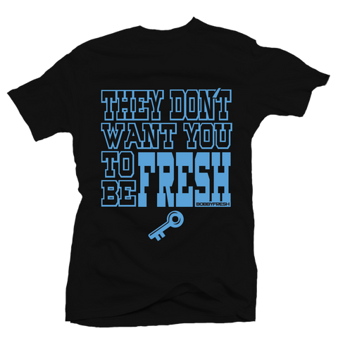 Key To Freshness Black Tee