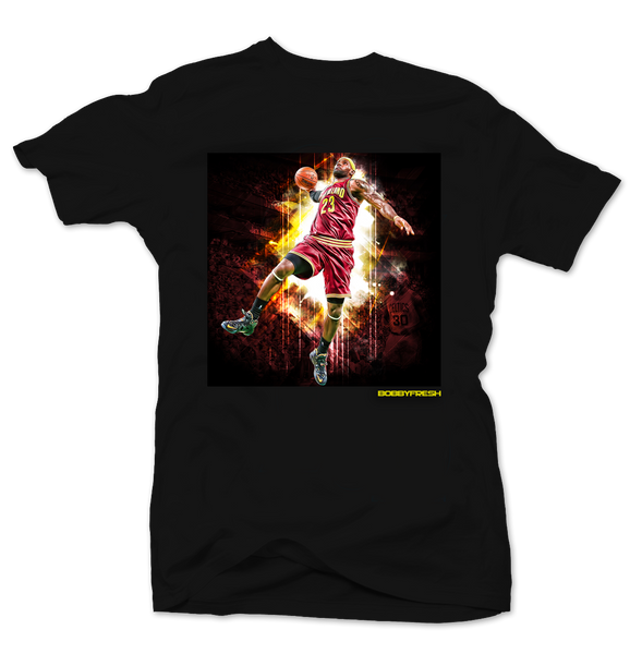 King James Black Tee