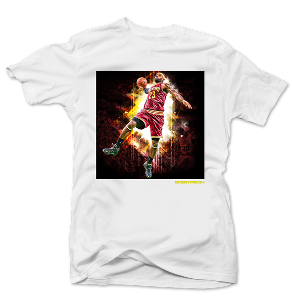 King James White Tee