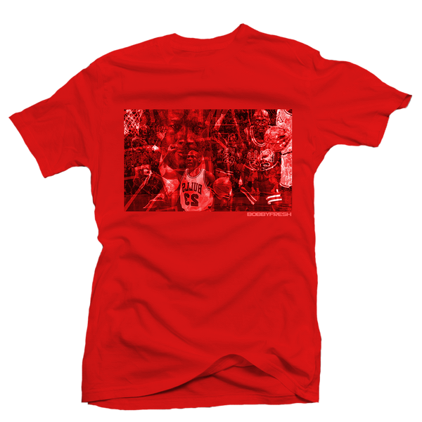 Pressure Red/Red Tee