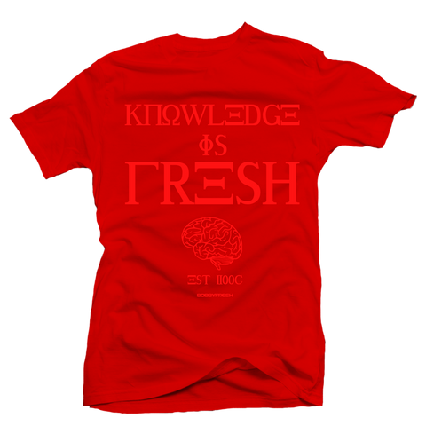 Knowledge Red Tee