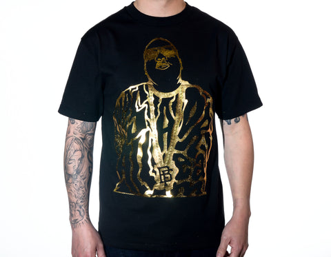 Dream BIG Black/Gold Tee