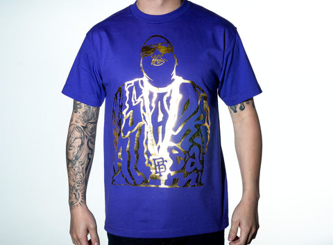 Dream BIG Purple/Gold Tee
