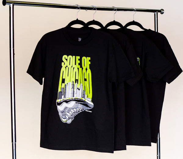 Sole Of Chicago Throwback Tee (Venom 10)