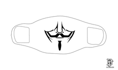 Vendetta White Mask
