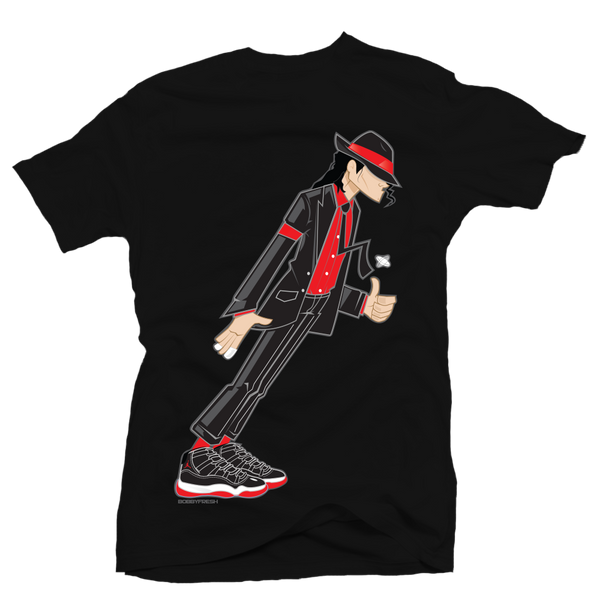 Smooth Criminal Black Bred Tee - Bobby Fresh